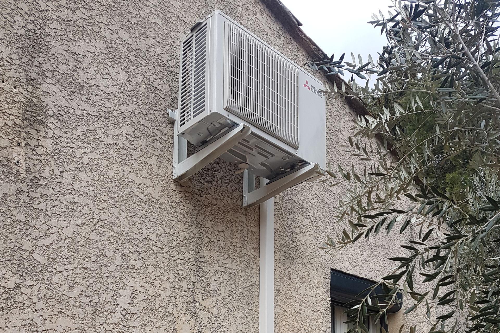 Climatisation réversible à Orgon